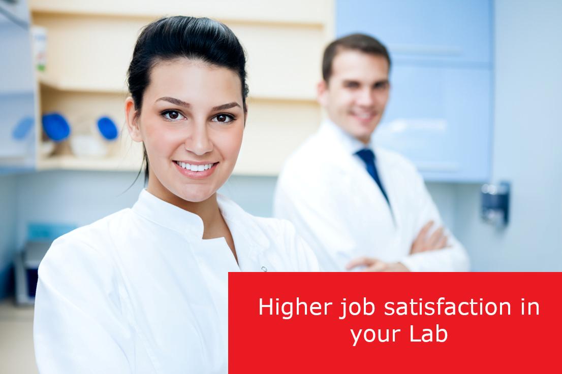 Hogere werktevredenheid op je Lab.